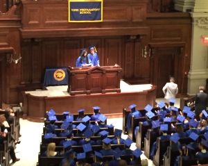 York Prep Graduation Class 2015